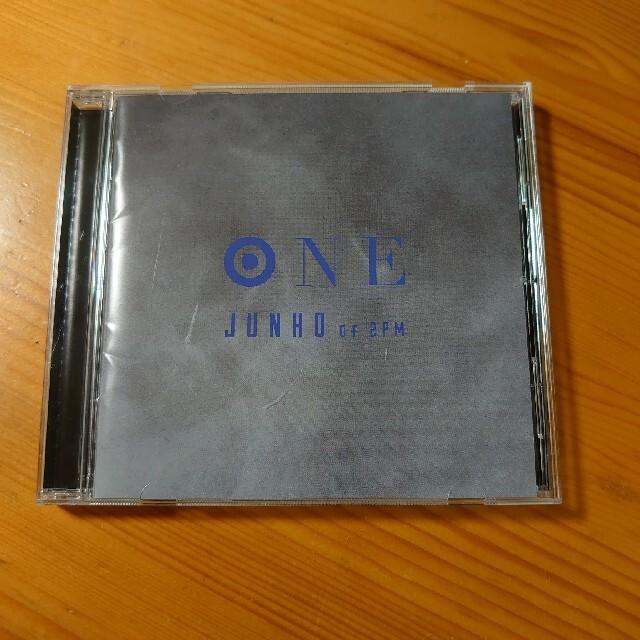 2PMジュノ  ONE ~JAPAN SPECIAL EDITION~ エンタメ/ホビーのCD(K-POP/アジア)の商品写真