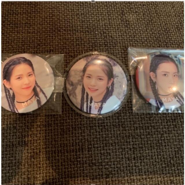 NiziU 缶バッジ エンタメ/ホビーのCD(K-POP/アジア)の商品写真