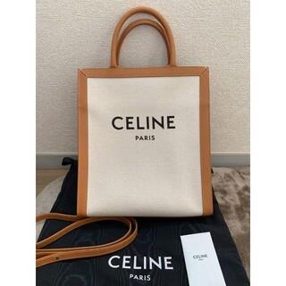 celine - celine バーティカル キャンバス バッグ