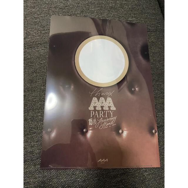 AAA(トリプルエー)のAAAカフェ クリアファイル 日高光啓 エンタメ/ホビーのタレントグッズ(ミュージシャン)の商品写真