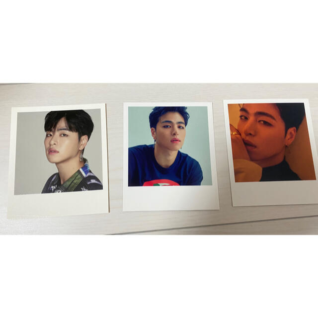 iKON(アイコン)のiKON*フォトカード(ジュネ) 3枚セット エンタメ/ホビーのCD(K-POP/アジア)の商品写真