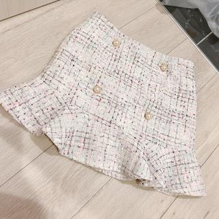 evelyn - 新品未使用 ツイードスカート
