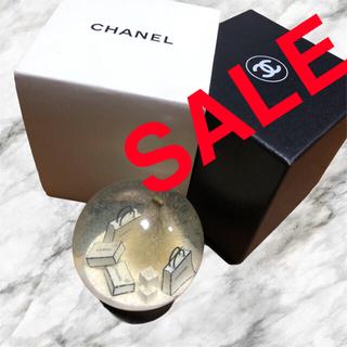 CHANEL - CHANEL クリスマスツリー スノーボール 非売品