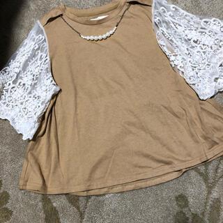 アナップ(ANAP)のAnap カットソー トップス Tシャツ(Tシャツ(半袖/袖なし))