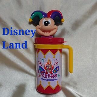 Disney - ディズニー 15周年 ミッキー ピエロ スーベニアカップ ドリンクボトル