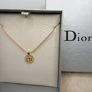 Christian Dior - CD333 未使用【Dior ディオール】ネックレス CDロゴ ゴールド