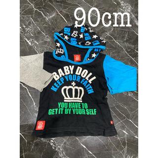 ベビードール(BABYDOLL)のベビードール ロンT 90cm(Tシャツ/カットソー)