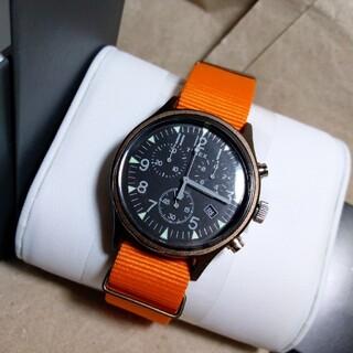 タイメックス(TIMEX)のTIMEX 腕時計 アルミニウム TW2T10600(腕時計(アナログ))