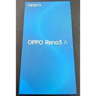 美品 OPPO Reno3A CPH2013 ホワイト
