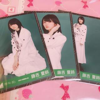 欅坂46 藤吉夏鈴 セミコンプ 生写真