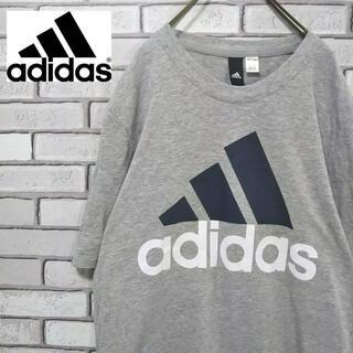 adidas - アディダス パフォーマンスロゴ Tシャツ デカロゴ オーバーサイズ 90s