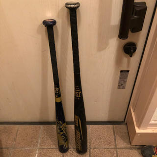 ゼット(ZETT)の少年野球用金属バット2本(バット)