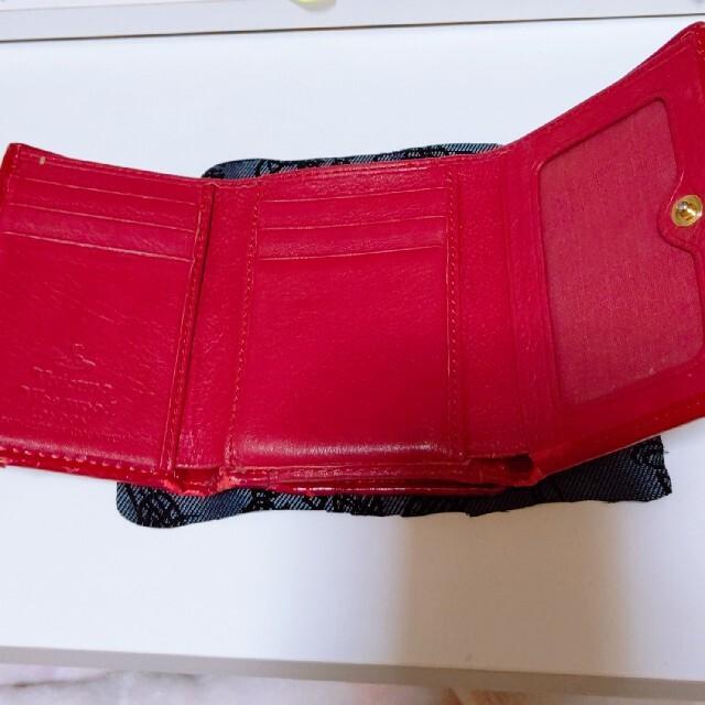 Vivienne Westwood(ヴィヴィアンウエストウッド)のVivienne Westwood がま口三つ折財布 レディースのファッション小物(財布)の商品写真