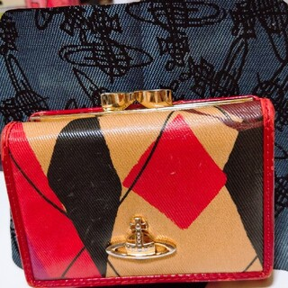 Vivienne Westwood - Vivienne Westwood がま口三つ折財布