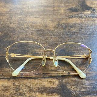 バーバリー(BURBERRY)のバーバリー メガネフレーム18K(サングラス/メガネ)