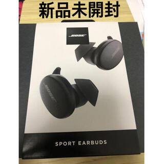 BOSE - BOSE Sport Ear Buds Triple Black