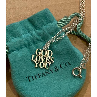 Tiffany & Co. - Vintage Tiffany  God Loves You  ティファニー