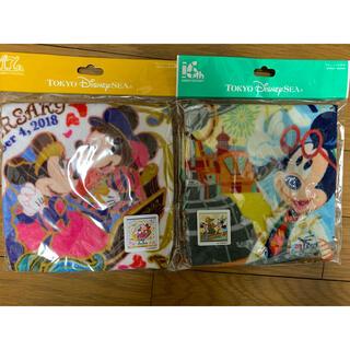 Disney - Disney seaウォッシュタオル 2枚セット