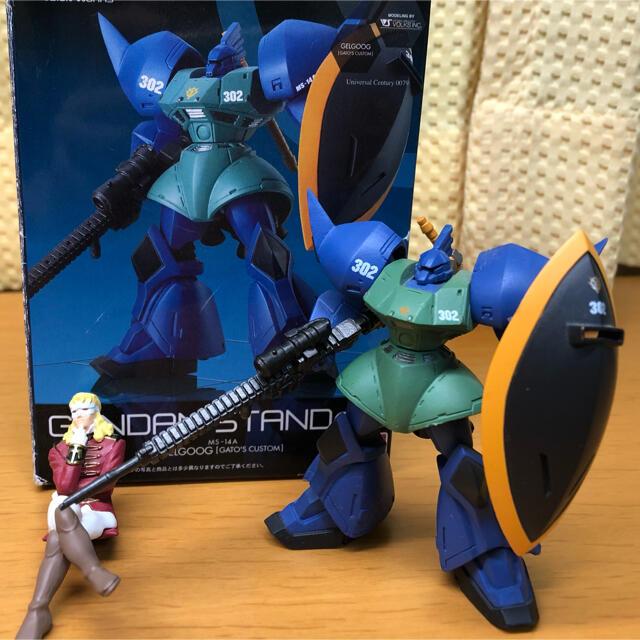 BANDAI(バンダイ)のFW GUNDAM STANDart  ゲルググ(アナベル・ガトー専用機) エンタメ/ホビーのおもちゃ/ぬいぐるみ(模型/プラモデル)の商品写真