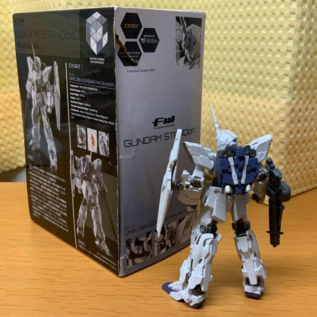 BANDAI(バンダイ)のFW GUNDAM STANDart  ユニコーンガンダム(ユニコーンモード) エンタメ/ホビーのおもちゃ/ぬいぐるみ(模型/プラモデル)の商品写真