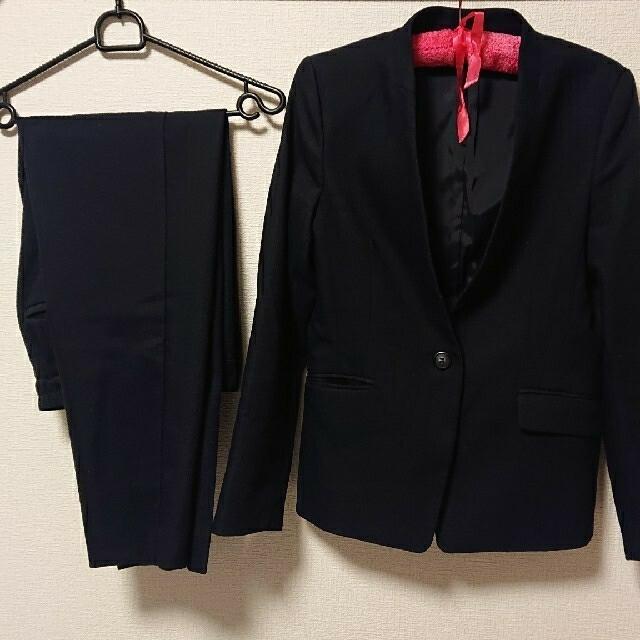 PLST(プラステ)の(値下げ)PLST ノーカラージャケット パンツ スーツ レディースのフォーマル/ドレス(スーツ)の商品写真