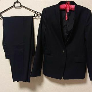 PLST - PLST ノーカラージャケット パンツ スーツ