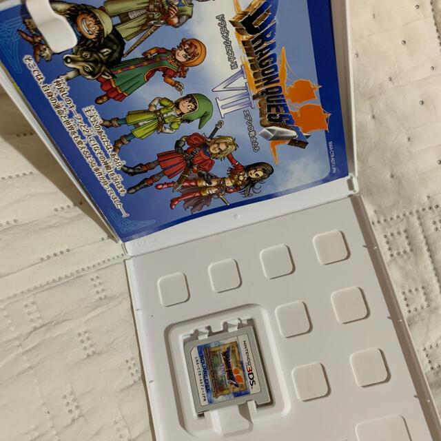 SQUARE ENIX(スクウェアエニックス)のドラゴンクエストVII エデンの戦士たち 3DS エンタメ/ホビーのゲームソフト/ゲーム機本体(携帯用ゲームソフト)の商品写真