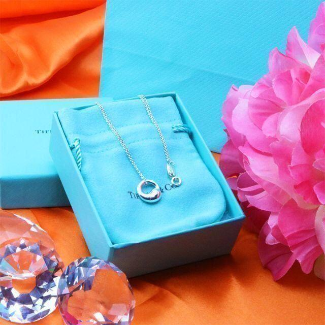 Tiffany & Co.(ティファニー)の☆新品☆未使用☆ ティファニー エターナルサークルネックレス レディースのアクセサリー(ネックレス)の商品写真