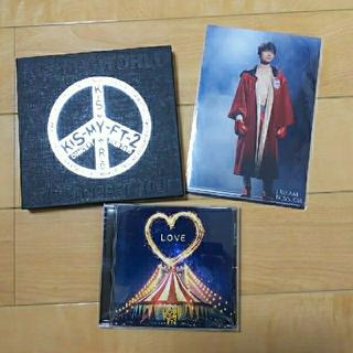 キスマイフットツー(Kis-My-Ft2)のBE LOVE、星に願いを(dTV放送中)セット(ポップス/ロック(邦楽))