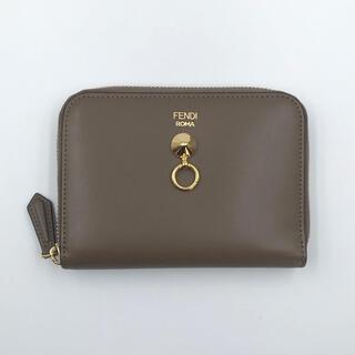 FENDI - 【新品】フェンディ  折り財布 二つ折り財布 ミニ財布 バイザウェイ ブラウン