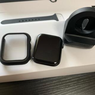 Apple Watch - ほぼ未使用スタンド付き apple watch series5 gps 44mm