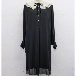 Romantic Volume Sleeve Midi Dress