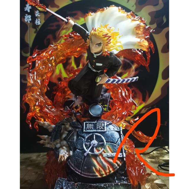TPAスタジオ 鬼滅の刃 フィギュア 炎柱 劇場版 煉獄杏寿郎 ガレージキット  エンタメ/ホビーのおもちゃ/ぬいぐるみ(キャラクターグッズ)の商品写真