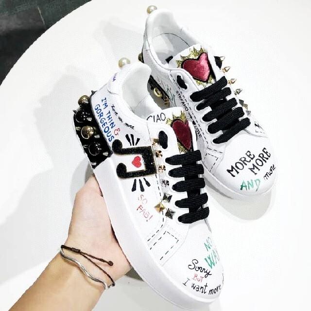 DOLCE&GABBANA(ドルチェアンドガッバーナ)の DOLCE&GABBANAスニーカー メンズの靴/シューズ(スニーカー)の商品写真