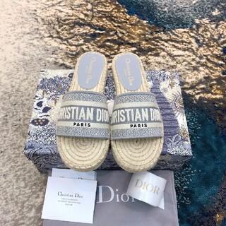 クリスチャンディオール(Christian Dior)のDIORビーチサンダル(サンダル)