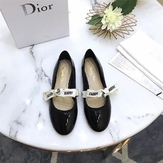 クリスチャンディオール(Christian Dior)のDIORフラットシューズ(ハイヒール/パンプス)