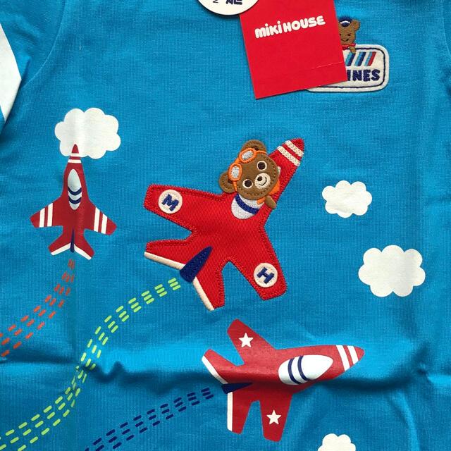 mikihouse(ミキハウス)の*新品未使用*ミキハウス 長袖トップス80 キッズ/ベビー/マタニティのベビー服(~85cm)(Tシャツ)の商品写真