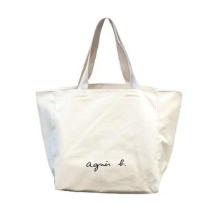 agnes b. - アニエスベートートバッグ ホワイト