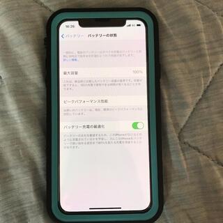 アイフォーン(iPhone)のSIMフリー iPhone xs64GB(携帯電話本体)