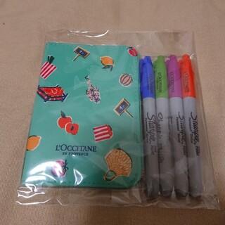 ロクシタン(L'OCCITANE)のL'OCCITANE パスポートケース&カラーユアシアペン(旅行用品)