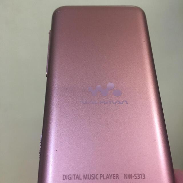 SONY(ソニー)のSONYウォークマン NW-S313 4GB スマホ/家電/カメラのオーディオ機器(ポータブルプレーヤー)の商品写真