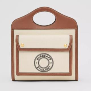 BURBERRY - 【新品未使用】Burberry キャンバスバッグ