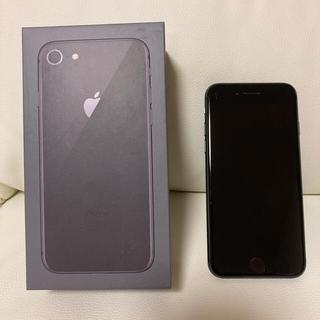 iPhone - iPhone 8 Space Gray 64 GB ドコモ SIMロック解除ずみ