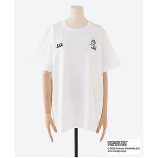wind and sea スヌーピー in銀座2020 銀座三越限定 Tシャツ