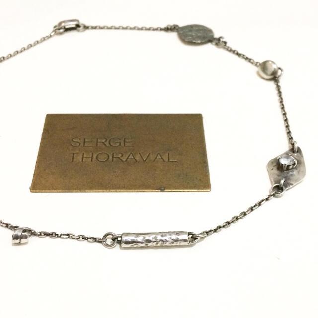 H.P.FRANCE(アッシュペーフランス)のSERGE THORAVAL 自然界 セルジュトラヴァル ネックレス シルバー レディースのアクセサリー(ネックレス)の商品写真
