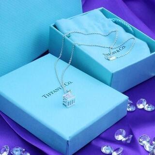 Tiffany & Co. - ☆新品☆未使用☆Tiffany&Co. ティファニー アトラスキューブペンダント