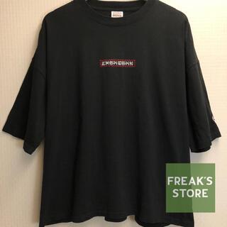 フリークスストア(FREAK'S STORE)のFREAK'S STORE黒Tシャツビッグシルエットドロップショルダーメンズ(Tシャツ/カットソー(半袖/袖なし))