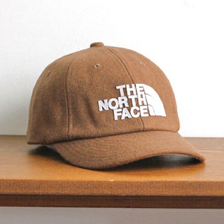 THE NORTH FACE - THE NOTH FACE/TNFロゴ*フランネルキャップ(ユニセックス)新品