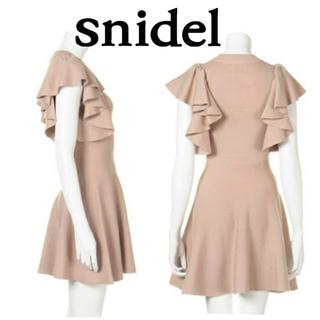 snidel - 美品♡snidel(スナイデル) ベージュワンピース