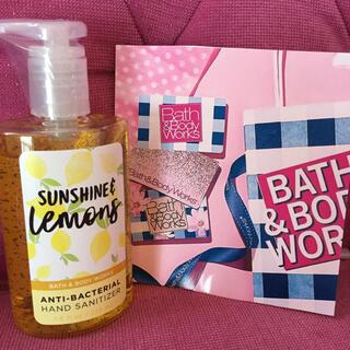 Bath & Body Works - ♡BBWたっぷり使えるハンドサニタイザー&携帯用1個セット♡